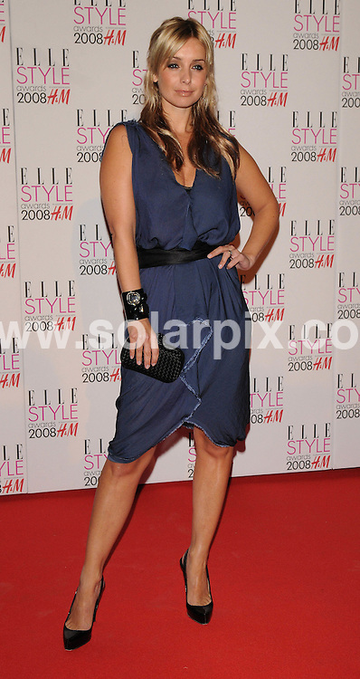 **ALL ROUND PICTURES FROM SOLARPIX.COM**.**WORLDWIDE SYNDICATION RIGHTS**.Celebrities arrive for the Elle Style Awards at The Roundhouse, London. 12th February 2008..This pic: Louise Redknapp..JOB REF: 5777 ATM     DATE: 12_02_2008.**MUST CREDIT SOLARPIX.COM OR DOUBLE FEE WILL BE CHARGED* *UNDER NO CIRCUMSTANCES IS THIS IMAGE TO BE REPRODUCED FOR ANY ONLINE EDITION WITHOUT PRIOR PERMISSION*