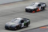 #18: Riley Herbst, Joe Gibbs Racing, Toyota Supra Monster Energy, #8: Jeb Burton, JR Motorsports, Chevrolet Camaro State Water Heaters