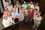 September 23, 2017- Tuscola, IL- The Class of 1957 held their 60th class reunion at The Smith House over TCHS Homecoming weekend. [Photo: Douglas Cottle]
