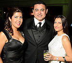 From left: Viann Bonoan, Oscar Garcia an Aimme Perez at the Endeavor for Hope Foundation's Annual Fundraising Gala Saturday May 09,2010.  (Dave Rossman Photo)