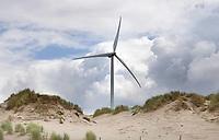 Nederland -  Velsen - 2019.    Windmolen in de duinen.   Foto Berlinda van Dam / Hollandse Hoogte