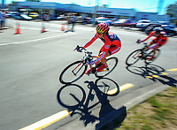 Action from race one of the Trust House Women's Cycle Tour Of New Zealand in Masterton, New Zealand on Wednesday, 18 February 2015. Photo: Dave Lintott / lintottphoto.co.nz