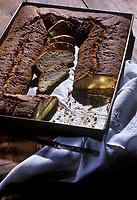 Europe/France/Midi-Pyrénées/12/Aveyron/Laissac : Le gâteau de la mariée - Spécialité traditionnelle