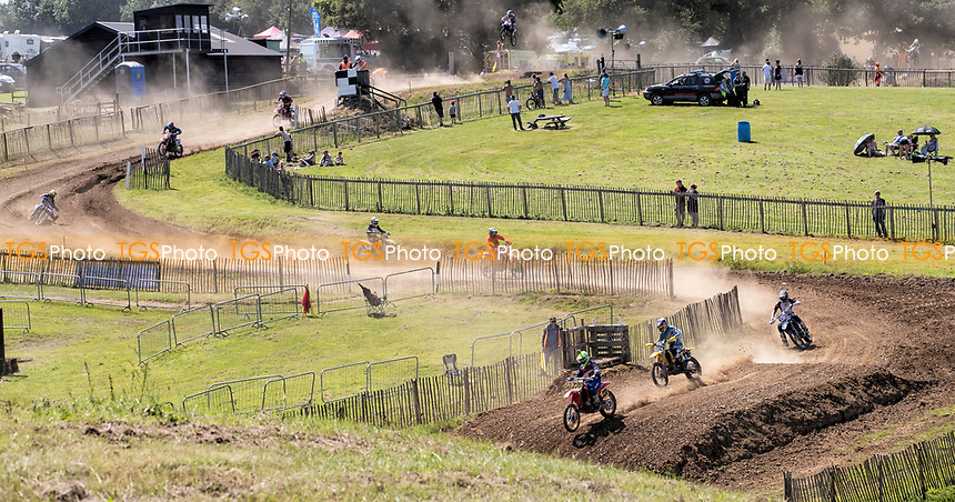 A general view of the Wakes Colne race circuit during the Richard Fitch Memorial Trophy Motocross at Wakes Colne MX Circuit on 18th July 2021