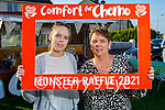 Nicole and Brenda O'Connor who helped raise €13,745 for the Comort For Chemo with a monster raffle on Subday in Ardfert