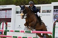 10th September 2021; Circo Massimo Stadium Rome, Italy; Longines Global Equestrian Champions Tour:  Sameh El Dahan