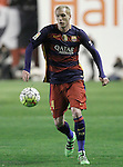 FC Barcelona's Jeremy Mathieu during La Liga match. March 3,2016. (ALTERPHOTOS/Acero)