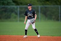 Elliot Krewson (51) during the WWBA World Championship at Lee County Player Development Complex on October 10, 2020 in Fort Myers, Florida.  Elliot Krewson, a resident of Chesterfield, Missouri who attends Parkway West High School, is committed to Dartmouth.  (Mike Janes/Four Seam Images)