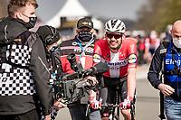Kasper Asgreen (DEN/Deceuninck - Quick Step) wins the 105th Ronde van Vlaanderen 2021 (MEN1.UWT)<br /> <br /> 1 day race from Antwerp to Oudenaarde (BEL/264km) <br /> <br /> ©kramon