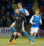 Josh Windass and Murray Davisdon clash heads together