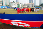 DPR Korea plays against Chinese Taipei during the AFC U-16 Women's Championship China 2015 Group B match at the Hankou Culture & Sports Centre Stadium on 05 November 2015 in Wuhan, China. Photo by Lucas Schifres / Power Sport Images