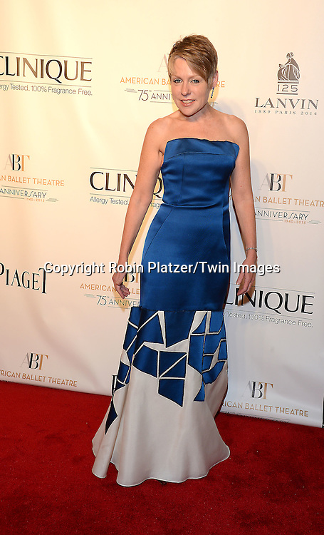 Victoria Phillips attends the Opening Night of American Ballet Theatre 2014 Fall Gala on October 22,2014 at the David Koch Theater at Lincoln Center in New York City. <br /> <br /> photo by Robin Platzer/Twin Images<br />  <br /> phone number 212-935-0770