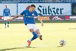 20.02.2021, xtgx, Fussball 3. Liga, FC Hansa Rostock - SV Waldhof Mannheim, v.l. Nico Neidhart (Hansa Rostock, 7) Torschuss, schiesst den Ball aufs Tor, Schuss <br /> <br /> (DFL/DFB REGULATIONS PROHIBIT ANY USE OF PHOTOGRAPHS as IMAGE SEQUENCES and/or QUASI-VIDEO)<br /> <br /> Foto © PIX-Sportfotos *** Foto ist honorarpflichtig! *** Auf Anfrage in hoeherer Qualitaet/Aufloesung. Belegexemplar erbeten. Veroeffentlichung ausschliesslich fuer journalistisch-publizistische Zwecke. For editorial use only.