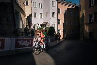 Wout Poels (NED/SKY) dropped <br /> <br /> MEN ELITE ROAD RACE<br /> Kufstein to Innsbruck: 258.5 km<br /> <br /> UCI 2018 Road World Championships<br /> Innsbruck - Tirol / Austria