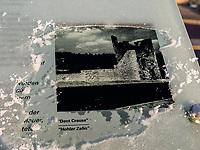 Dente Creuse-Hohler Zahn der Festung auf  Montée de Clausen, Luxemburg-City, Luxemburg, Europa, UNESCO-Weltkulturerbe<br /> Dente Creuse-hollow tooth part of fortification on Montée de Clausen, Luxembourg City, Europe, UNESCO Heritage Site