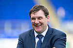 St Johnstone v Ross County…12.05.18…  McDiarmid Park    SPFL<br />A happy Tommy Wright at full time<br />Picture by Graeme Hart. <br />Copyright Perthshire Picture Agency<br />Tel: 01738 623350  Mobile: 07990 594431
