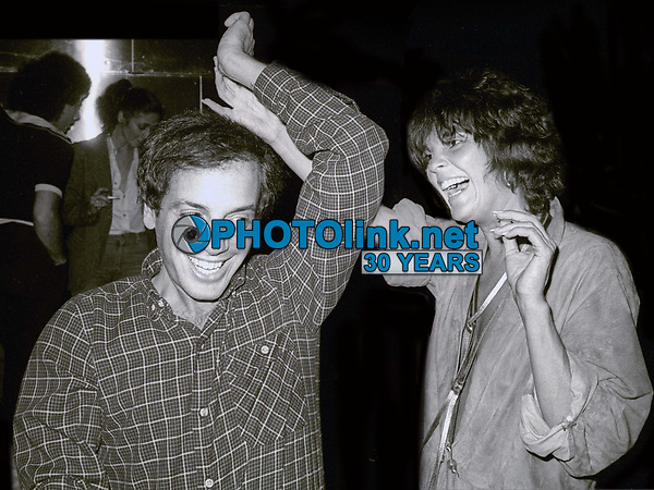 Steve Rubell and Ali McGraw at Studio 54 1978<br /> Photo By Adam Scull/PHOTOlink.net