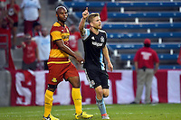 Bridgeview, IL - Wednesday, July 20, 2016: The Chicago fire played the Fort Lauderdale Strikers in the  U.S. Open Cup Quarterfinal match at Toyota Park in Bridgeview, IL.  The Chicago Fire defeated the Fort Lauderdale Strikers by the score of 3-0.