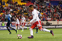 Harrison, NJ - Wednesday Feb. 22, 2017: Gonzalo Veron during a Scotiabank CONCACAF Champions League quarterfinal match between the New York Red Bulls and the Vancouver Whitecaps FC at Red Bull Arena.