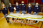 Fiona McSweeney, Maura Culloty, Evelyn Mason, Olivia Gruszka, Lauren Coffey and Síleoongh Mansfield, students at Presentation Secondary school, Castleisland hosting their science week and display their Forensic Science projects on Thursday.
