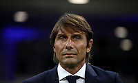 Calcio, Serie A: Inter Milano - Lecce, Giuseppe Meazza stadium, September 26 agosto 2019.<br /> Inter's coach Antonio Conte prior to the Italian Serie A football match between Inter and Lecce at Giuseppe Meazza (San Siro) stadium, September August 26,, 2019.<br /> UPDATE IMAGES PRESS/Isabella Bonotto