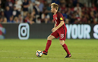 Orlando, FL - Friday Oct. 06, 2017: Dax McCarty during a 2018 FIFA World Cup Qualifier between the men's national teams of the United States (USA) and Panama (PAN) at Orlando City Stadium.