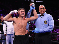 NEWARK, NJ - JULY 31: Vito Mielnicki Jr. after defeating Noah Kidd on the Fox Sports PBC Fight Night at Prudential Center on July 31, 2021 in Newark, New Jersey. (Photo by Frank Micelotta/Fox Sports/PictureGroup)