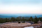 Vista near the summit of Lassen Volcanic National Park.