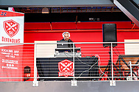 Washington, DC - Sunday JAN 26, 2020: DJ Jealousy plays music at the DC Defenders open house at  Audi Field in Washington, DC. (Photo by Phil Peters/Media Images International)