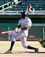 Lorenzo Cain / Peoria Javelinas 2008 Arizona Fall League..Photo by:  Bill Mitchell/Four Seam Images