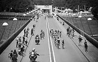 divided peloton<br /> <br /> Belgian National Road Cycling Championships 2016<br /> Les Lacs de l'Eau d'Heure