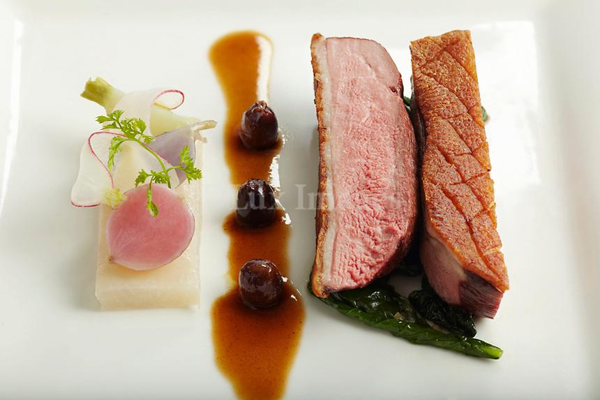 Chef's Olivier Reginensi pork dish