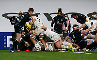 Monday 9th November 2020 | Ulster Rugby vs Glasgow Warriors<br /> <br /> John Andrews during the Guinness PRO14 Round 5 match between Ulster Rugby and Glasgow Warriors at Kingspan Stadium in Belfast, Northern Ireland. Photo by John Dickson / Dicksondigital