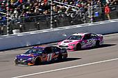 #11: Denny Hamlin, Joe Gibbs Racing, Toyota Camry FedEx Office and #32: Matt DiBenedetto, Go FAS Racing, Ford Fusion Plan B Sales