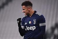 Danilo Luiz Da Silva of Juventus FC celebrates after scoring the goal of 1-0 during the Serie A football match between Juventus FC and US Sassuolo Calcio at Allianz stadium in Torino (Italy), January 10th, 2021. Photo Federico Tardito / Insidefoto