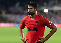 Orlando, FL - Wednesday July 31, 2019:  Diego Costa #19 prior to an Major League Soccer (MLS) All-Star match between the MLS All-Stars and Atletico Madrid at Exploria Stadium.