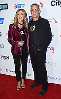 Tom Hanks + Rita Wilson @ the Stand Up To Cancer 2016 held @ the Walt Disney Concert Hall. September 9, 2016