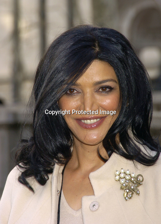 Shohreh Aghdashloo ..at The Heart Truth's Red Dress Collection at the Olympus..Fashion Week in Bryant Park on February 4, 2005...Photo by Robin Platzer, Twin Images