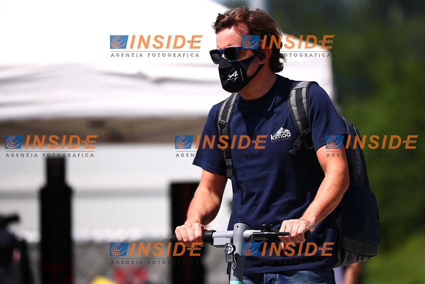#14 Fernando Alonso, Alpine. Formula 1 World championship 2021, Styrian GP 2021, June 24th, 2021