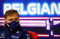 27th August 2021; Spa Francorchamps, Stavelot, Belgium: FIA F1 Grand Prix of Belgium, free practise:  F1 Grand Prix of Belgium Jost Capito GER, Williams Racing at press conference