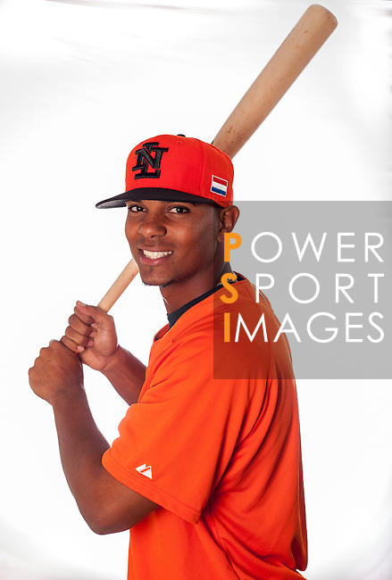 Xander Bogaerts of Team Netherlands poses during WBC Photo Day at the Taichung International Baseball Stadium on February 26, 2013 in Taichung, Taiwan. Photo by Victor Fraile / The Power of Sport Images