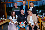 Tommy Moriarty from St Brendans Park celebrating his 30th birthday in Ristorante Uno on Saturday. Seated l to r: Christina Moloney, Tommy and Sinead Moriarty. Back l to r: Jack Moriarty, Eimear O'Beirne and Shauna Moriarty.