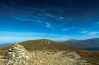 Meall a Bhuachaille and Bynack More from Creagan Gorm, Aviemore, Cairngorm National Park, Highland