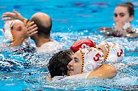Celebration Spain<br />  <br /> Budapest 25/01/2020 Duna Arena <br /> Spain (white caps) Vs. Russia (blue caps) Women<br /> Final<br /> XXXIV LEN European Water Polo Championships 2020<br /> Photo  ©Giorgio Scala / Deepbluemedia / Insidefoto