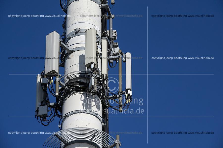 Germany, Cellular transmission pole / DEUTSCHLAND, Timmendorfer Strand, Sendemast fuer Mobilfunk