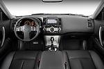 Straight dashboard view of a 2008 Infiniti FX35 SUV