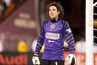 Guillermo Ochoa. Real Madrid defeated Club America 3-2 at Candlestick Park in San Francisco, California on August 4th, 2010.