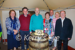 Seamus & Maureen Day from Marian Place, Cahersiveen celebrated their 50th Wedding Anniversary with family at their home on Saturday, pictured here l-r; Kathleen O'Keeffe, Patsy O'Keeffe, Seamus & Maureen, Tim Walsh, Nula Walsh & Pat Walsh.