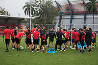 Panama City, Panama - March 26, 2017: The USMNT train in preparation for their 2018 FIFA World Cup Qualifying Hexagonal match against Panama at Rommel Fernandez Stadium.