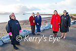 Kathryn Smith, Aoife Enright, Brid Leonard, Grace and Becky Pinckheard after enjoying a swim in Fenit on New Years Day.
